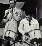 Picture of Benny Goodman and Gene Krupa